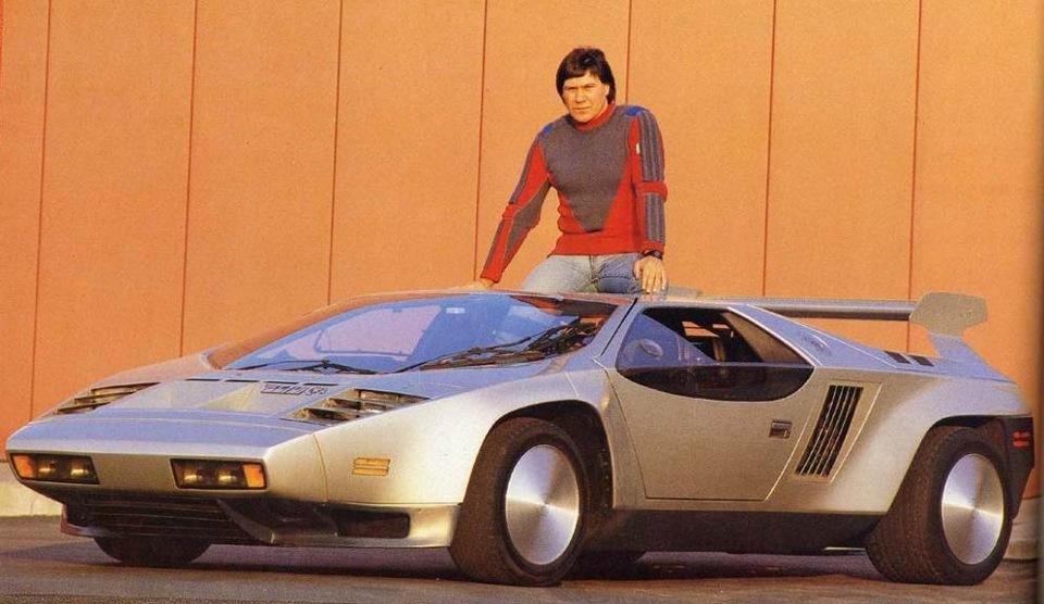 Джеральд Вигерт и Vector W2 1979 года
