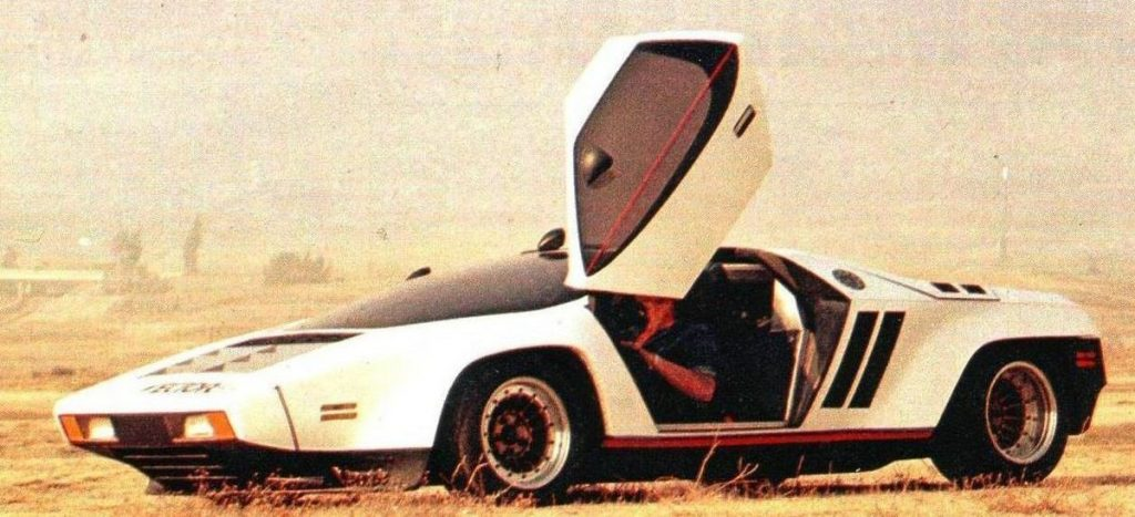 Vector W2 1971 года