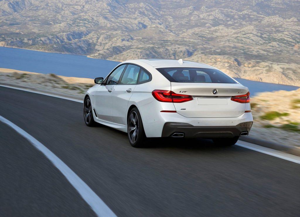 Новый BMW 6 Series Gran Turismo, вид сзади