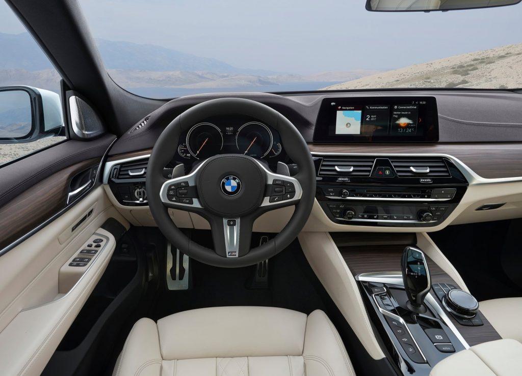 Новый BMW 6 Series Gran Turismo, передняя панель