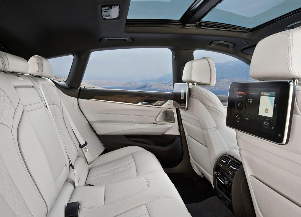 BMW 6 Series Gran Turismo, задние сиденья