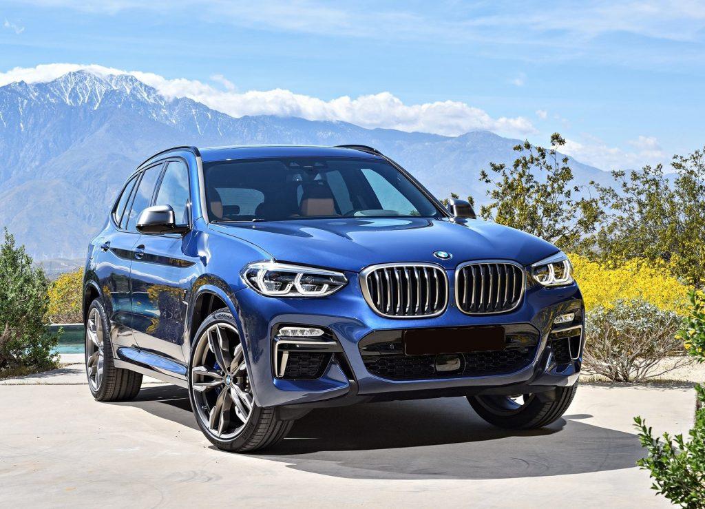 BMW X3 2017, вид спереди