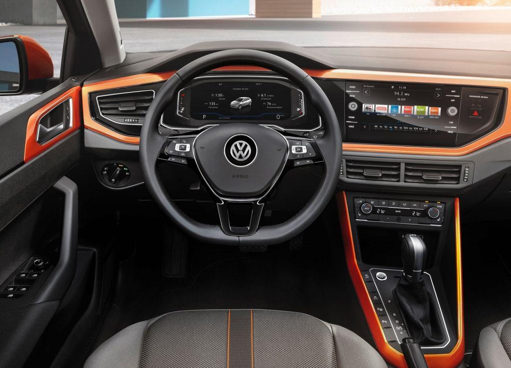 Новый Volkswagen Polo, салон