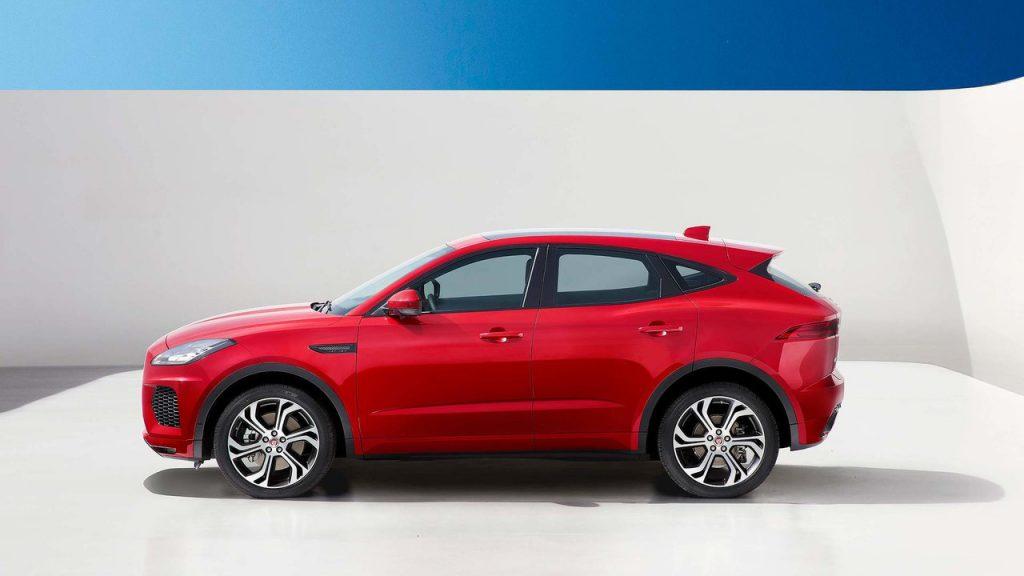 Jaguar E-Pace, вид сбоку