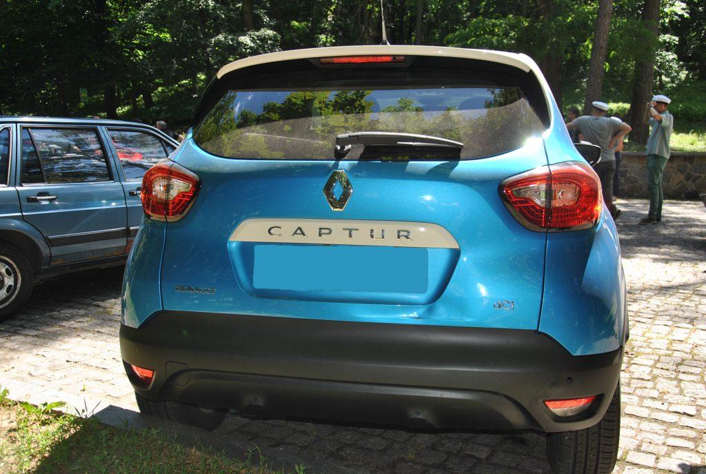 Renault Captur 2017, вид сзади