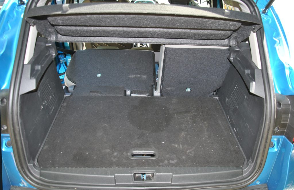 Renault Captur, багажник