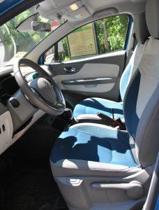 Renault Captur 2017, передние сиденья