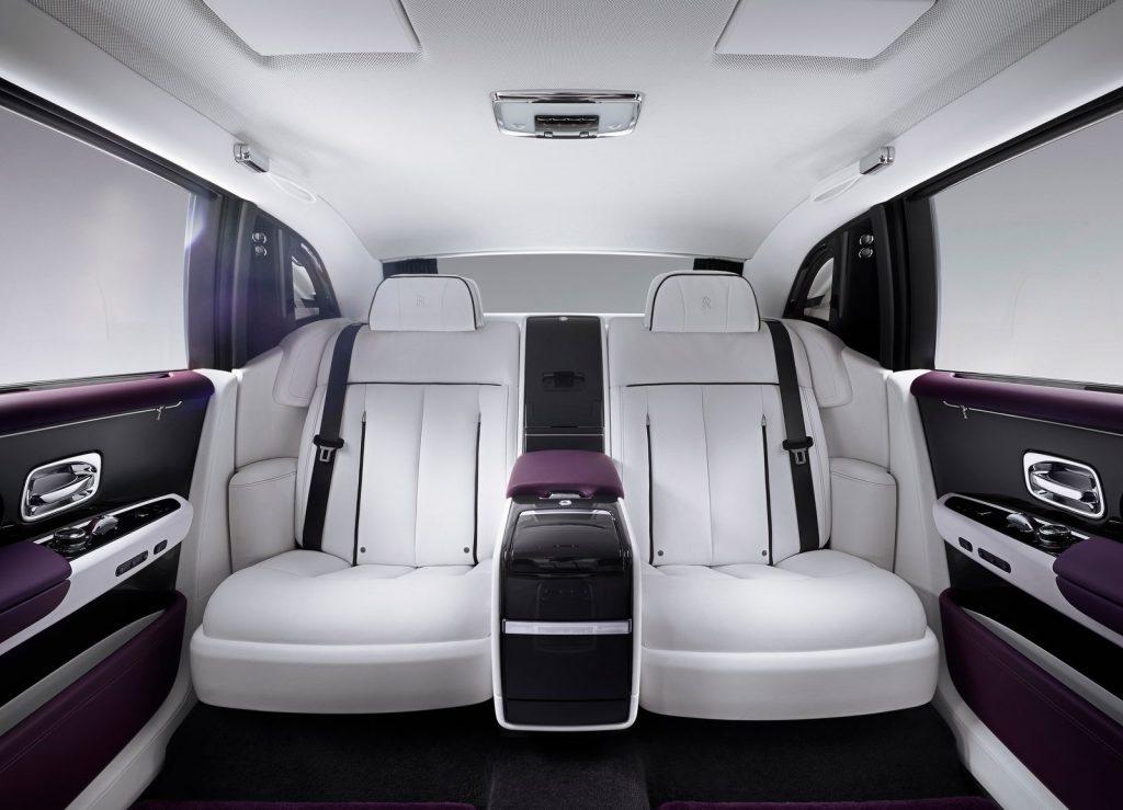 Rolls-Royce Phantom, задние сиденья