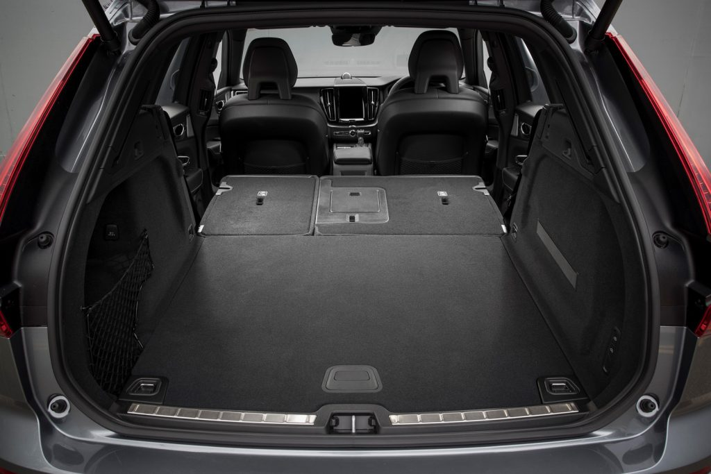 Новый Volvo XC60, багажник