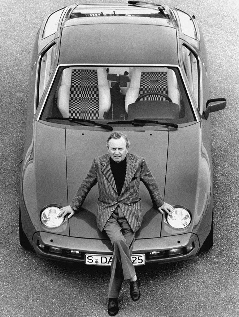 Фердинанд Порше оказался сторонником туристических купе