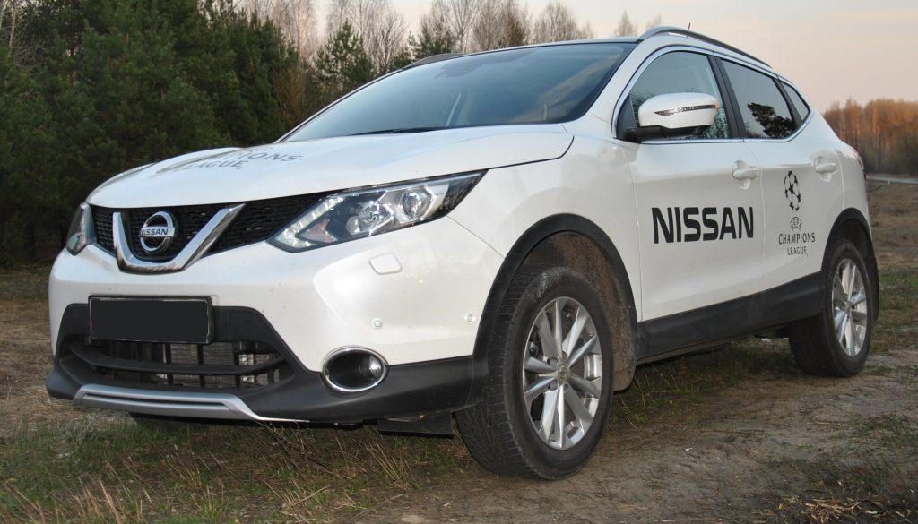 Nissan Qashqai 2017, вид на переднюю диагональ