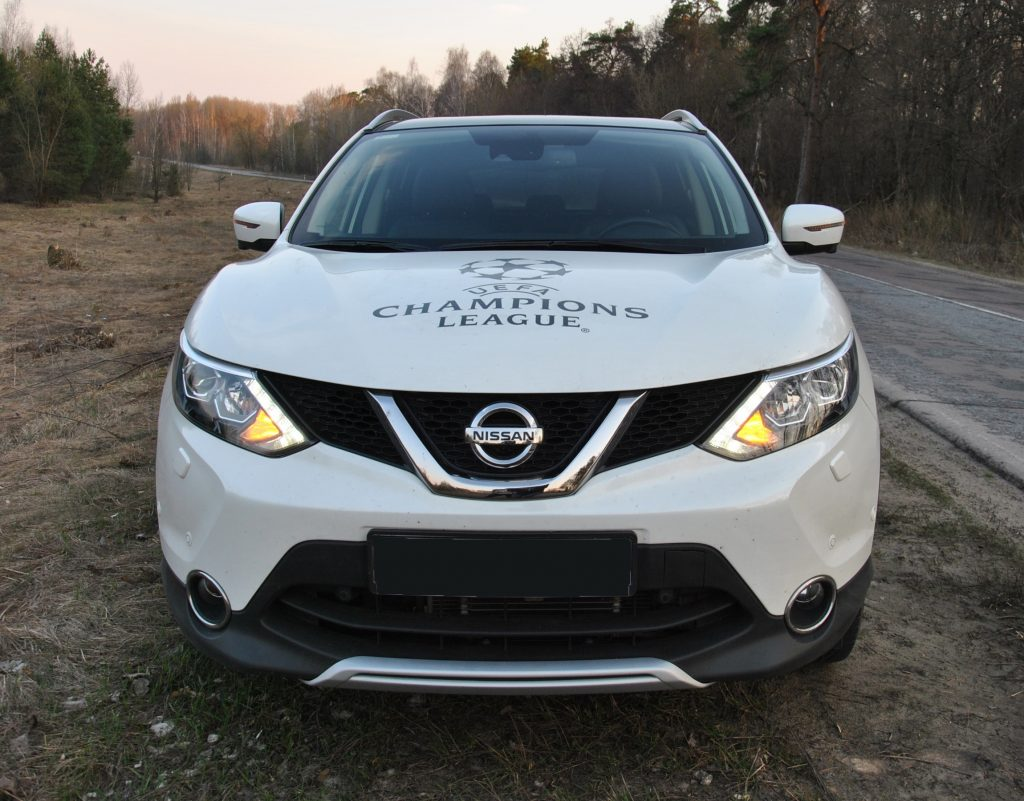 Nissan Qashqai 2017, вид спереди