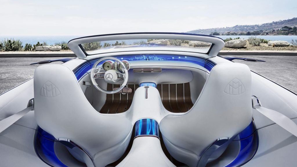 Mercedes-Benz Vision Maybach 6 Cabriolet, салон