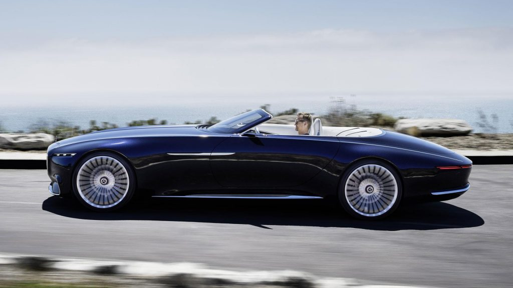 Mercedes-Benz Vision Maybach 6 Cabriolet, вид сбоку