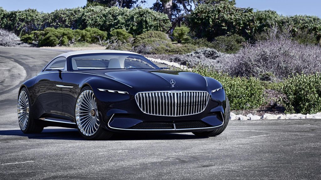 Mercedes-Benz Vision Maybach 6 Cabriolet, вид спереди