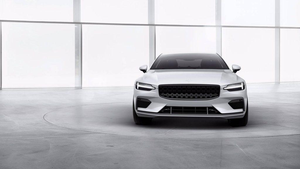 Volvo Polestar 1 2019, вид спереди