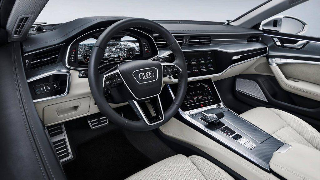 Audi A7 Sportback, передняя панель