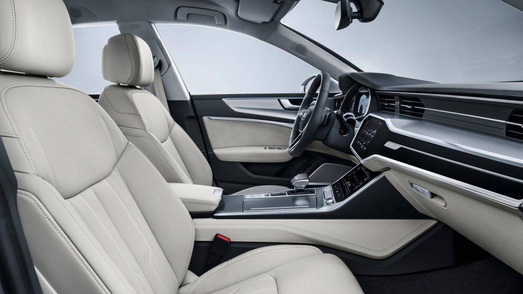 Новый Audi A7 Sportback, передние сиденья