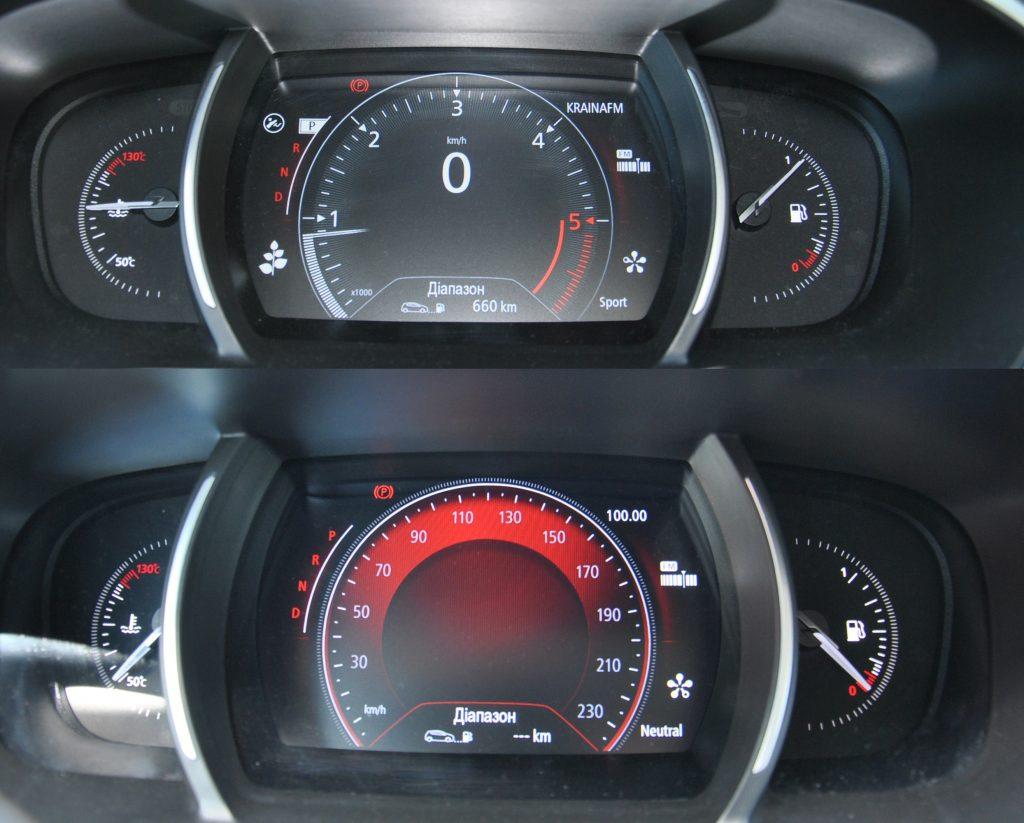 Renault Megane Sedan, приборная панель