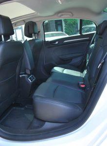 Renault Megane Sedan, задние сиденья