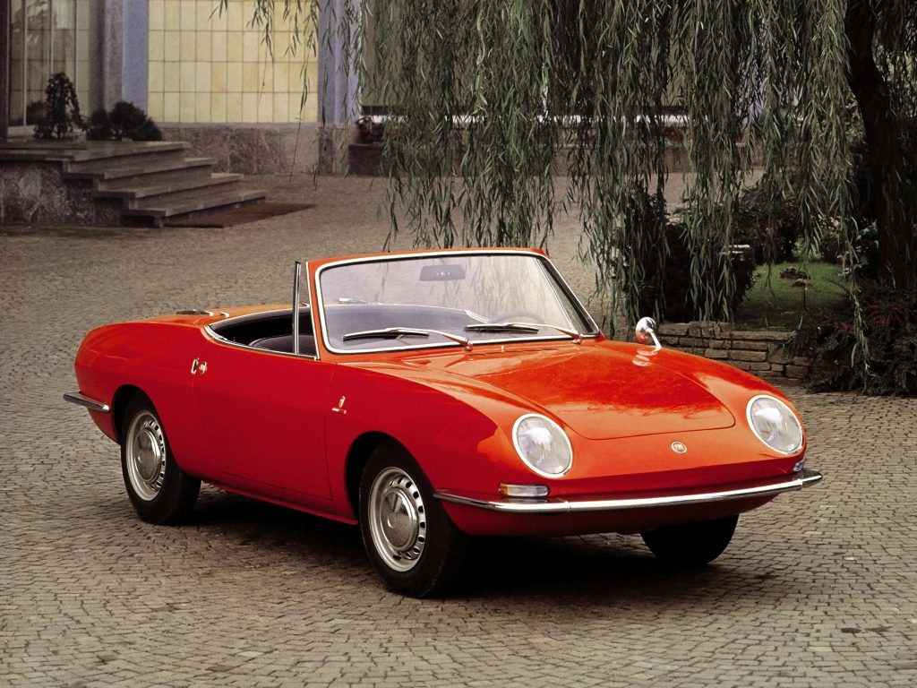 Fiat 850 Spider 1965 года