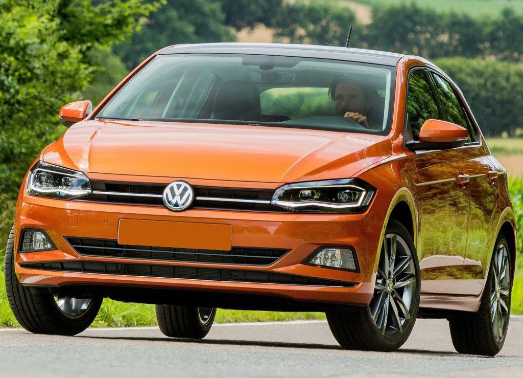 Volkswagen Polo 2017, вид спереди