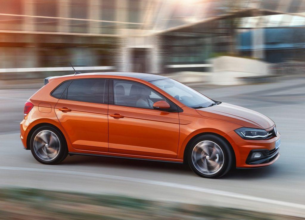 Volkswagen Polo 2017, вид сбоку
