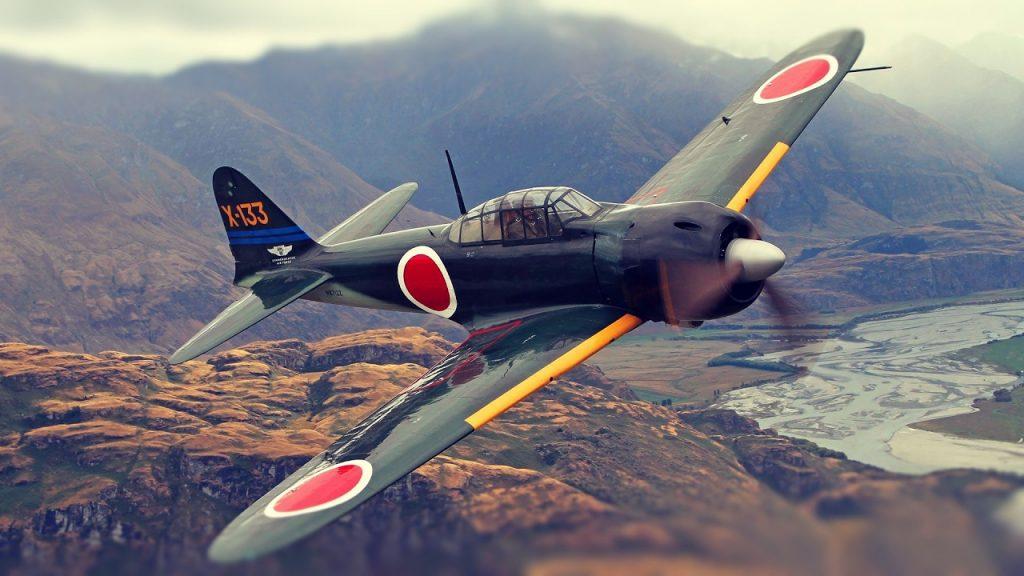 Легендарный истребитель Mitsubishi A6M Zero