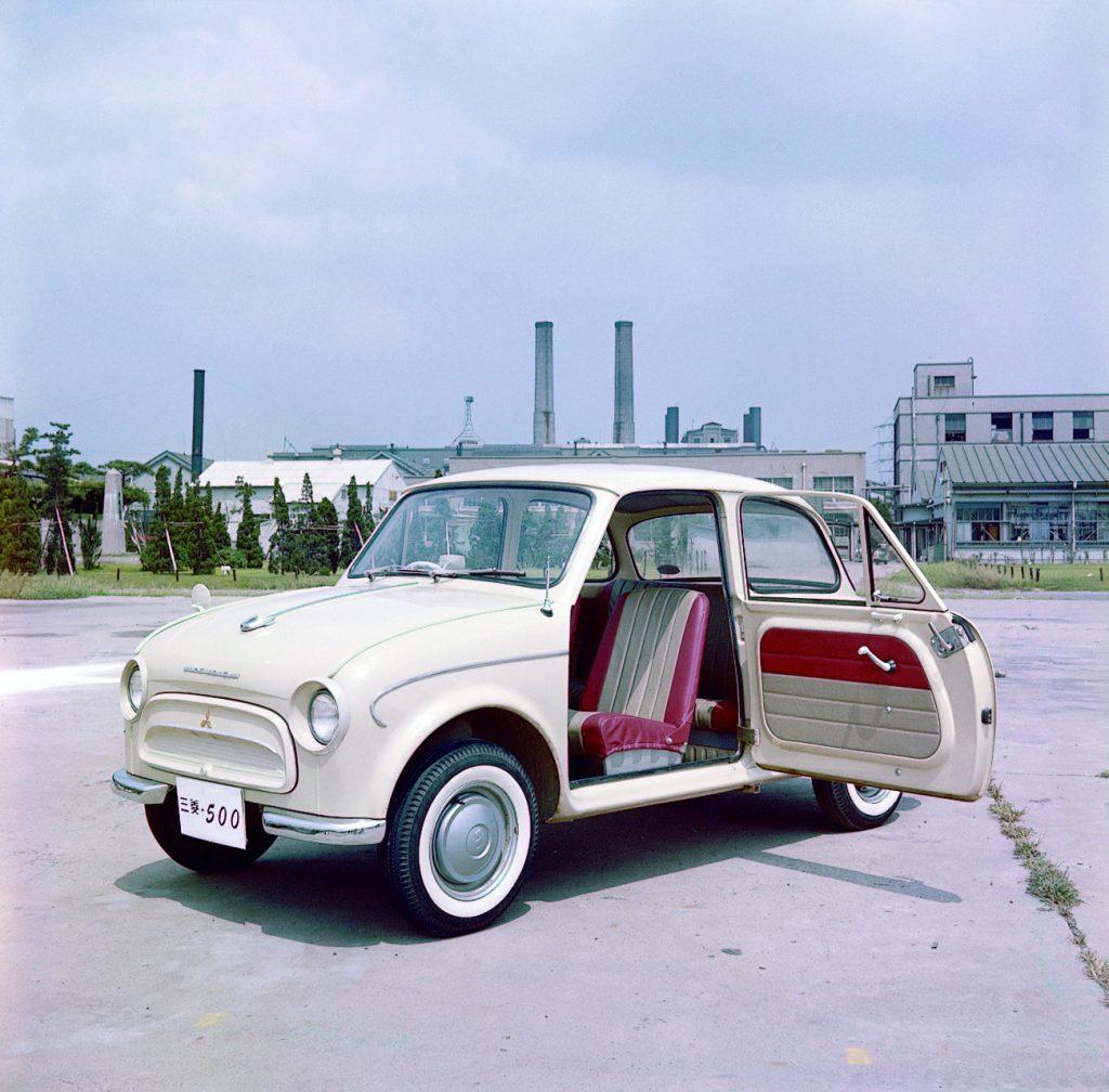 Mitsubishi 500 1960 года
