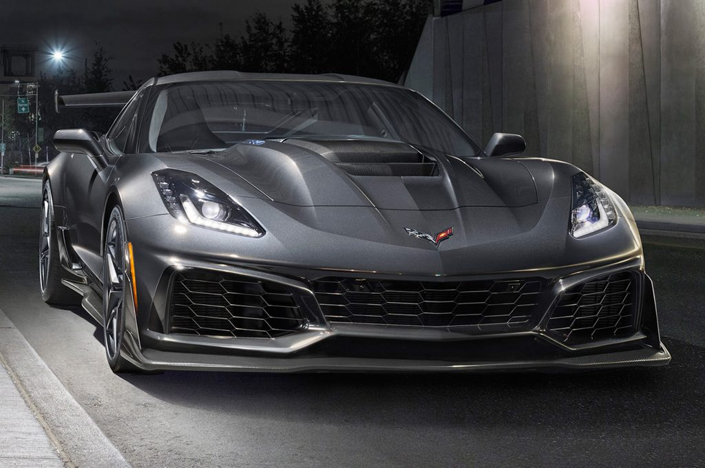 Chevrolet Corvette ZR1 2018, вид спереди