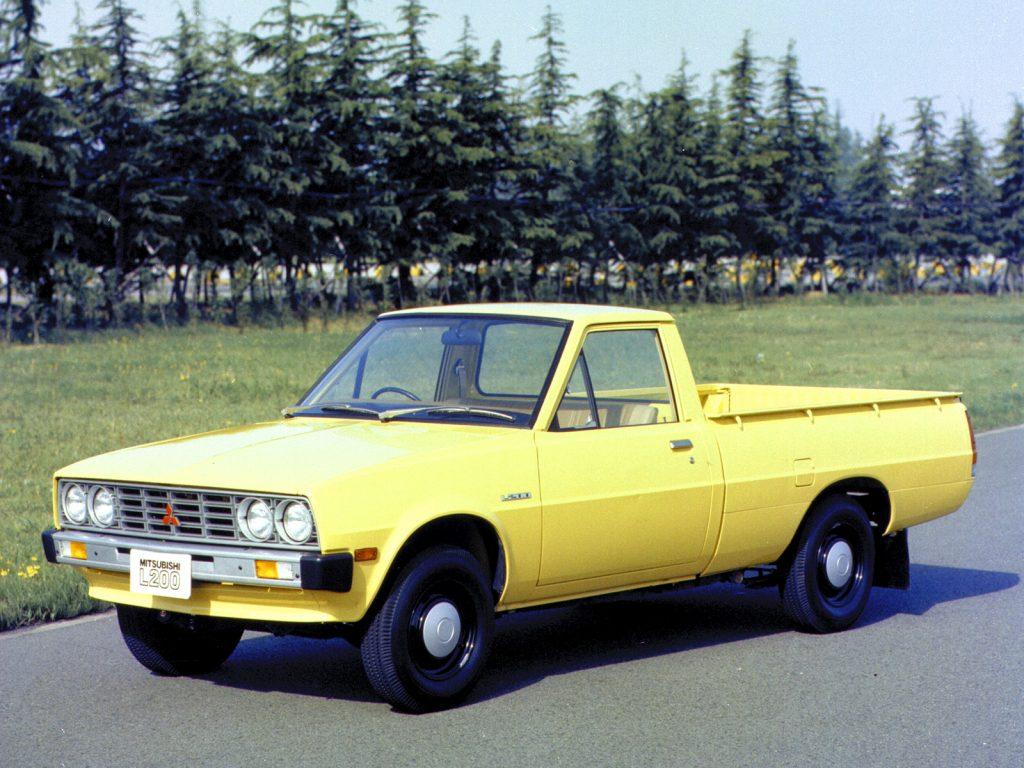 Mitsubishi L200 1970 года