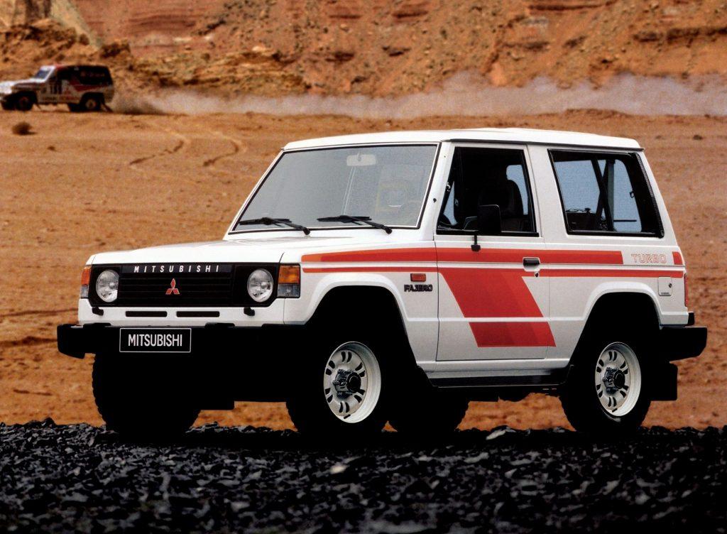 Mitsubishi Pajero, 1982 год