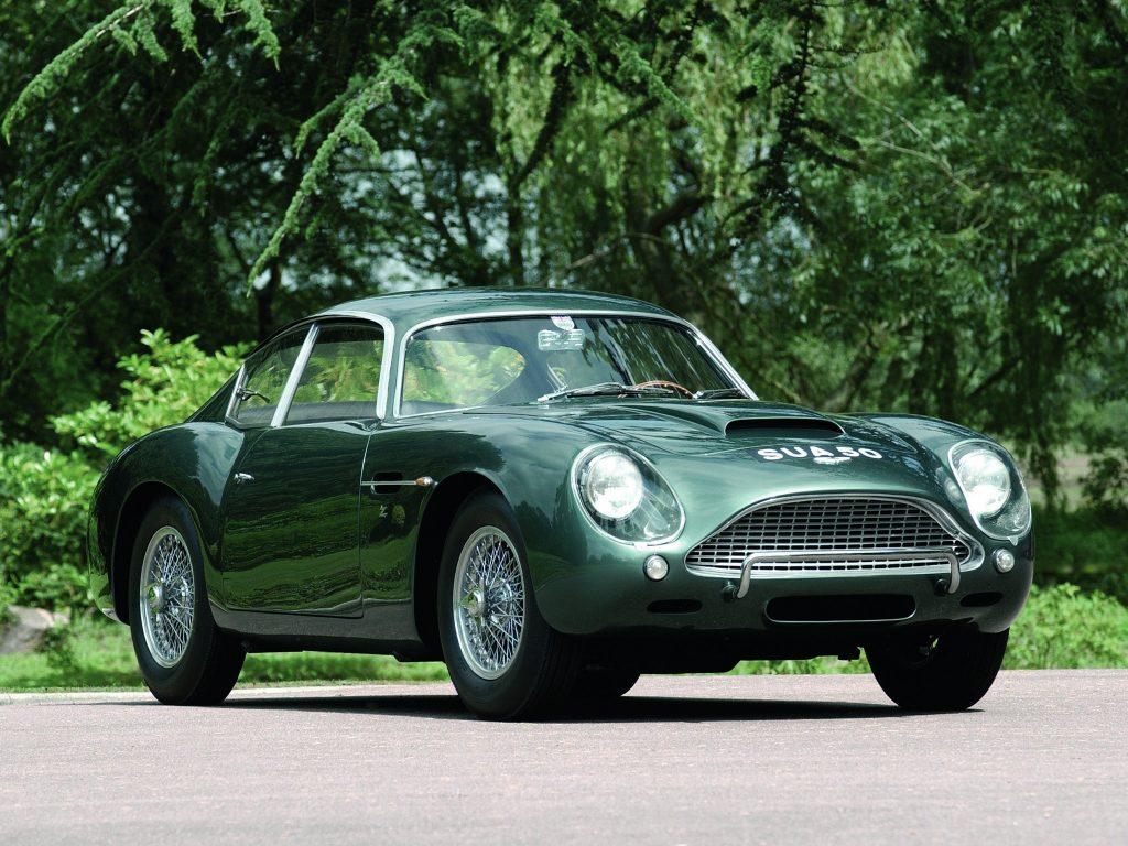 Aston Martin DB4 Zagato 1960 года