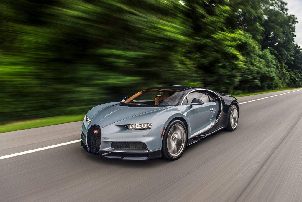 Bugatti Chiron попробует побить рекорд скорости в 2018 году