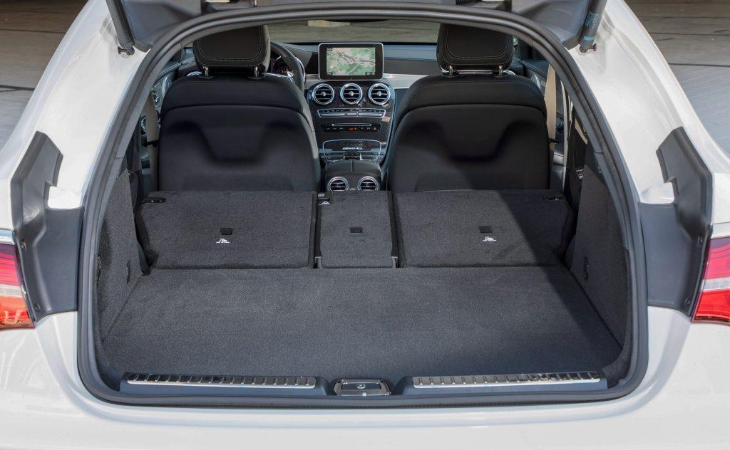 Новый Mercedes-AMG GLC63 Coupe, багажник