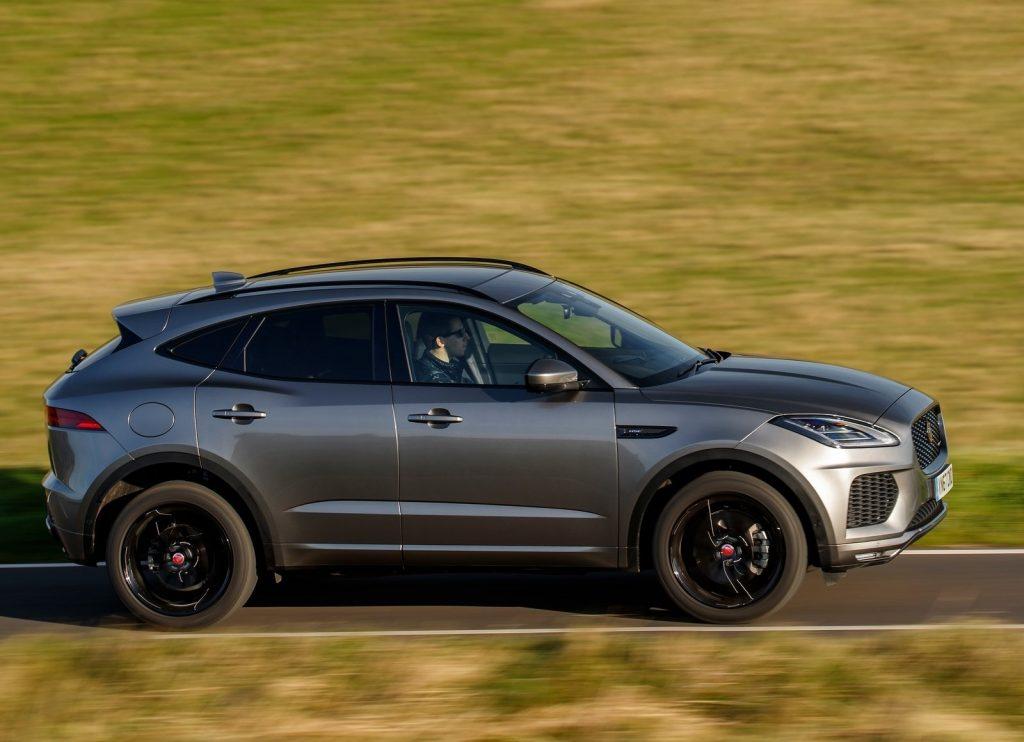 Jaguar E-Pace 2018, вид сбоку