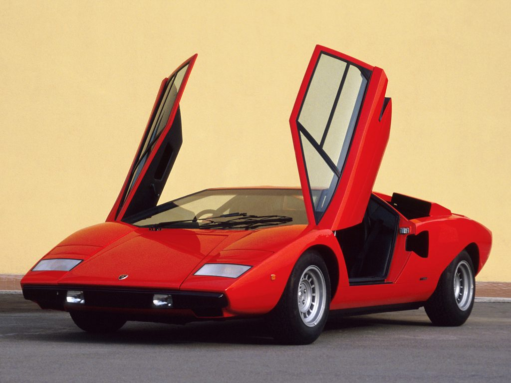 Laborghini Countach 1974 года