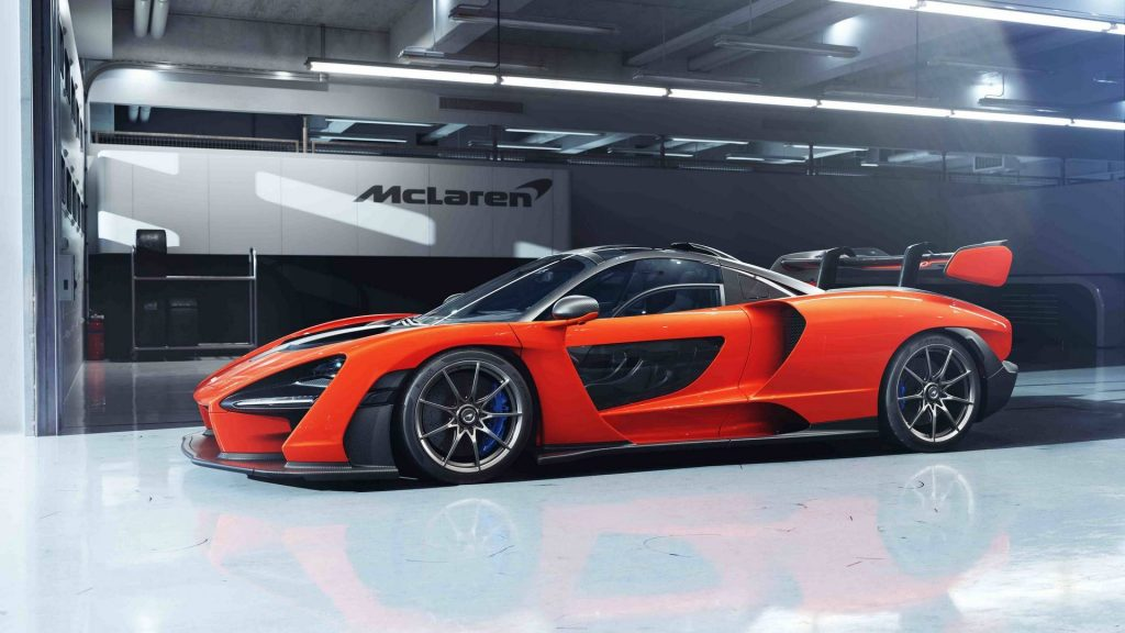 McLaren Senna 2018, вид сбоку