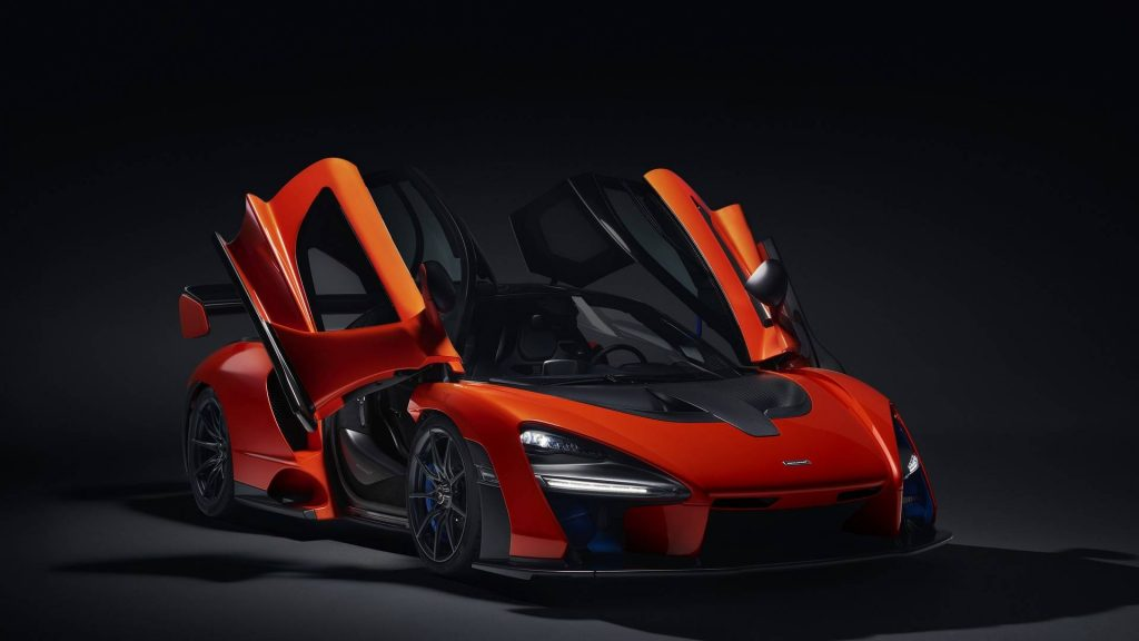 McLaren Senna, вид на переднюю диагональ