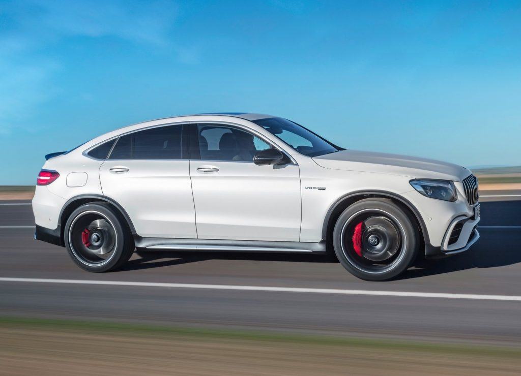 Mercedes-AMG GLC63 Coupe 2018, вид сбоку