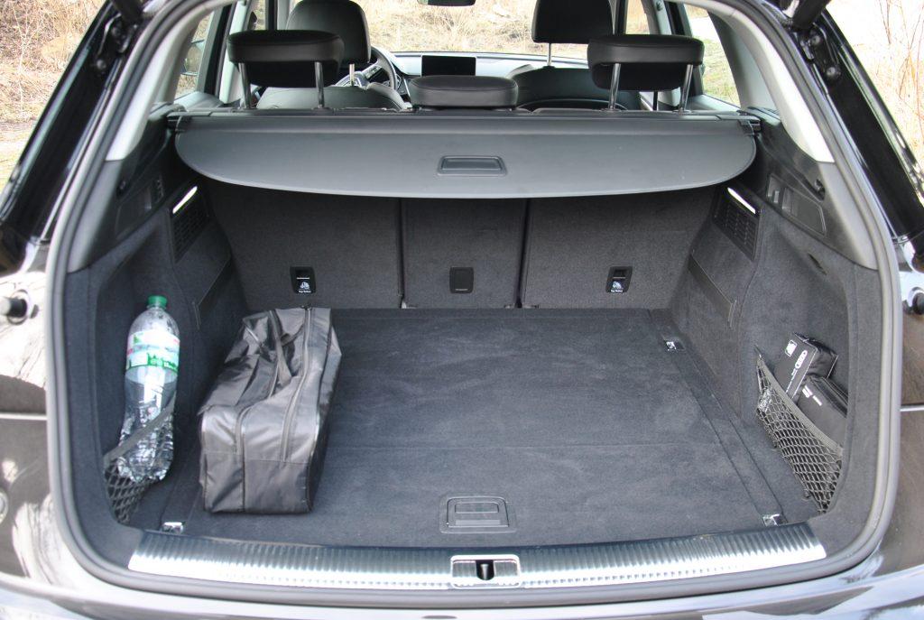 Новый Audi Q5, багажник