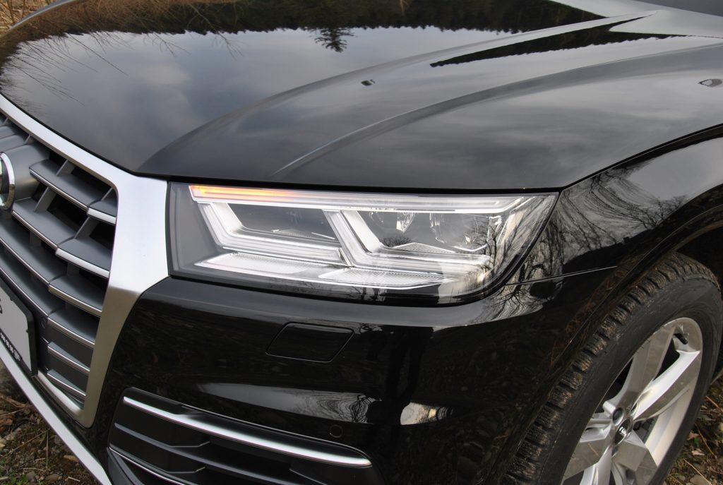 Audi Q5 2018, светодиодные фары