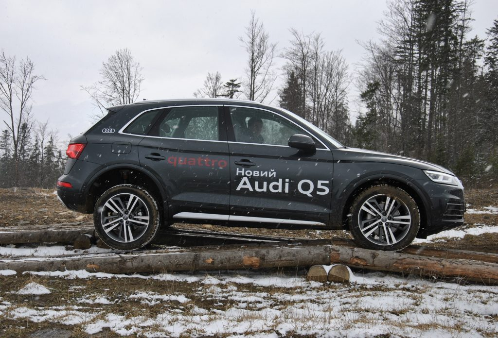 Audi Q5, бездорожье