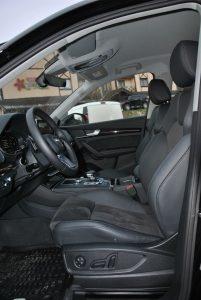 Audi Q5, передние сиденья