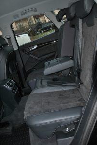 Audi Q5, задние сиденья