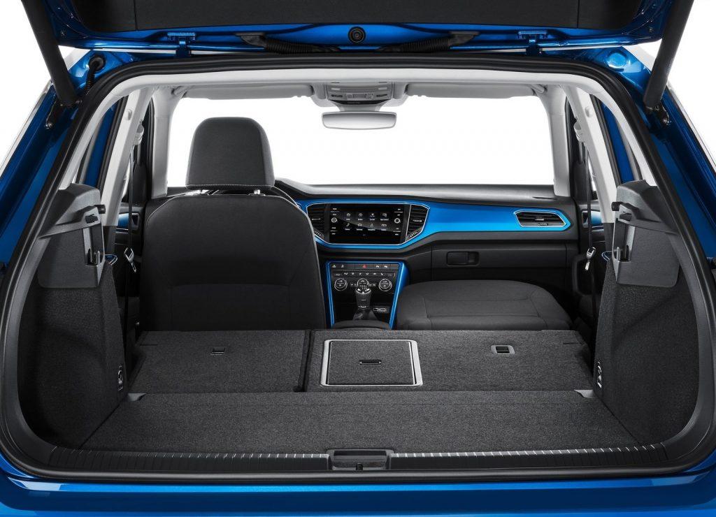 Volkswagen T-Roc 2018, багажник