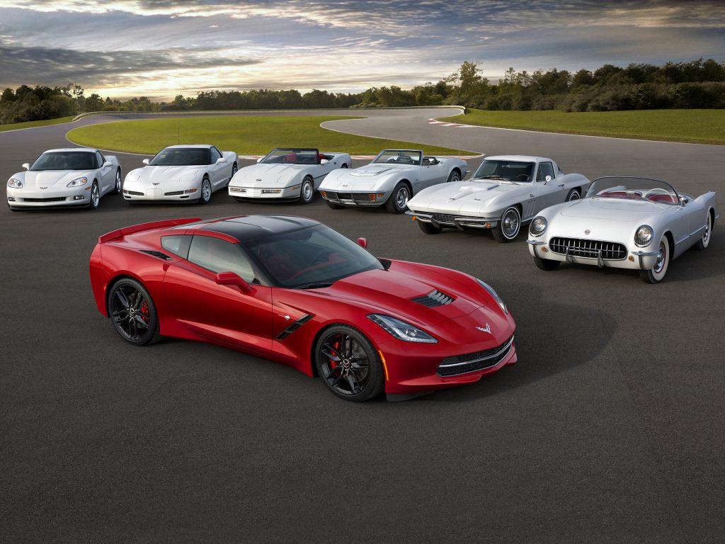 Всего выпущено свыше 1,5 млн. Corvette