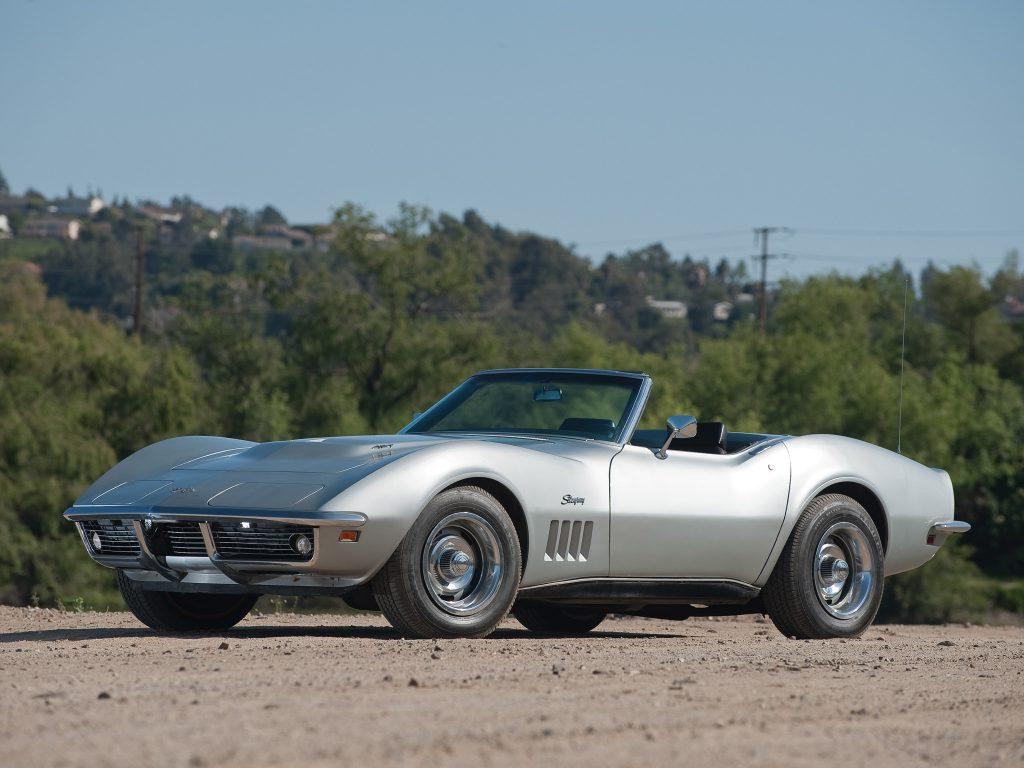 Кабриолет Corvette 1969 года