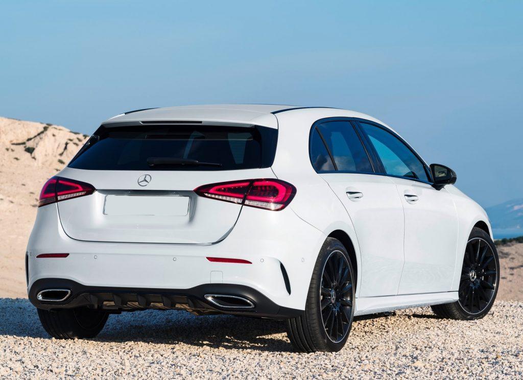 Mercedes-Benz A-Class 2018, вид сзади