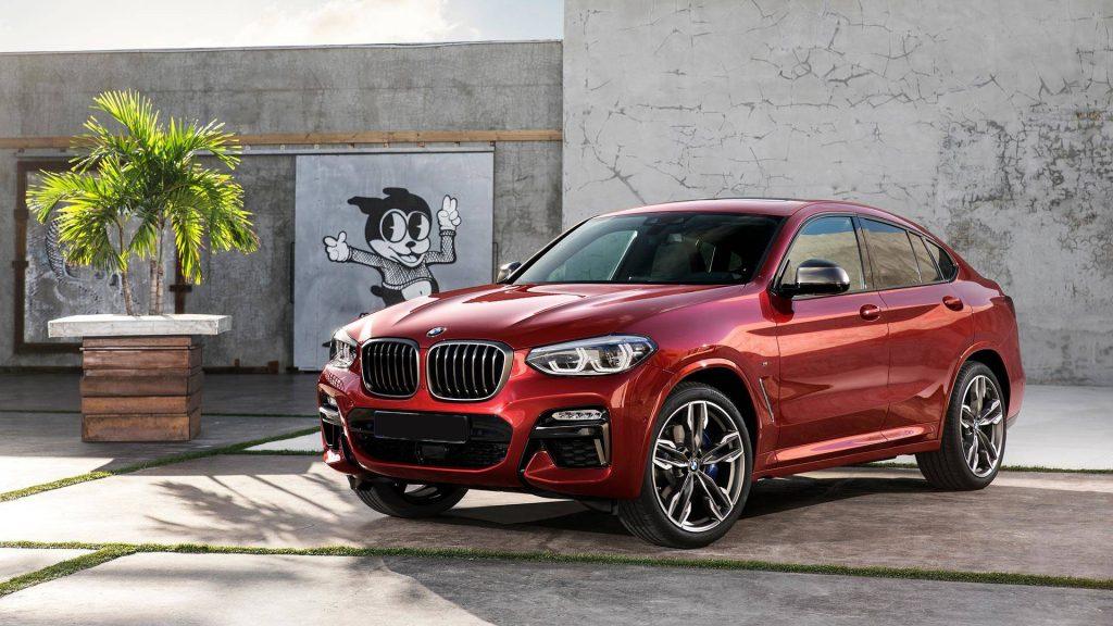 BMW X4 2018, вид спереди